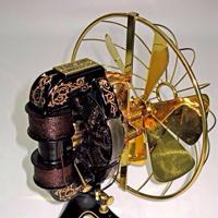 восстановленный электрический вентилятор эдисона
