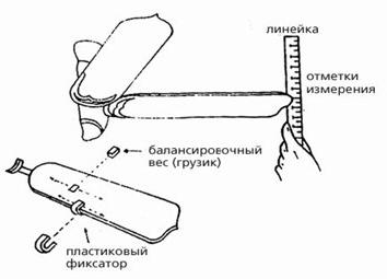 крепление банасировочных грузиков к лопастям